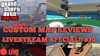 Gta Custom Map Reviews:LiveStream Special S5 #10