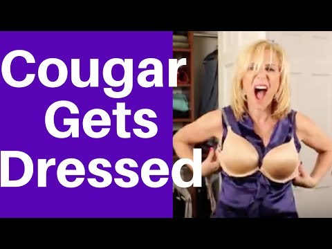 Xxx Mp4 How A COUGAR Gets Dressed Sexy Vs Slutty Meant To Be Funny 3gp Sex