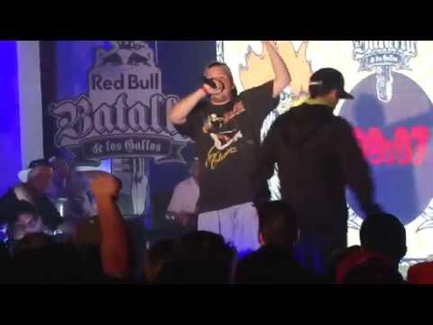 JORGE MC VS TOM CROWLEY FINAL RED BULL BATALLA DE LOS GALLOS SEMIFINAL SANTIAGO CHILE 2015