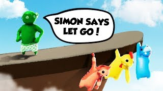IMPOSSIBLE SIMON SAYS IN GANG BEASTS CHALLENGE! (The Pals Gang Beasts)