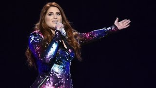 Meghan Trainor Slays 'No' Performance at Billboard Music Awards in Form-Fitting Sequined Dress