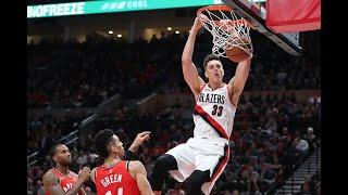 NBA: Eight Blazers hit double figures in downing Raptors