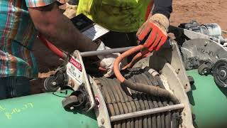 Pipeline field applied FBE coating application