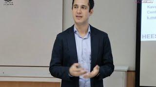 خرافات آب ایران- سخنرانی دکتر کاوه مدنی در دانشگاه صنعتی شریف