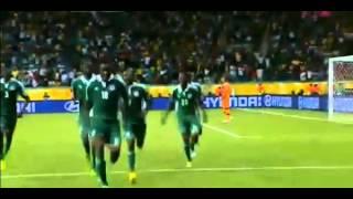 Obi Mikel Amazing Goal vs Uruguay  Nigeria 1 1 Uruguay ) 21 06 2013
