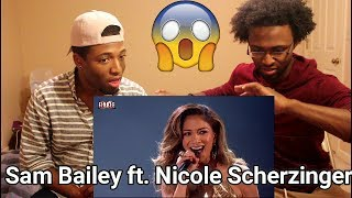 The X Factor 2013 - Sam Bailey sings And I'm Telling You with Nicole Scherzinger (REACTION)