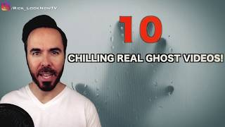 REAL GHOST VIDEOS? 10 Paranormal Moments Caught On Camera!