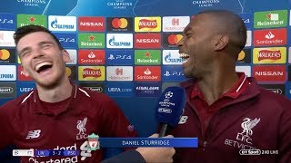 Robertson: Sturridge couldn't miss from my cross! (Liverpool v PSG)