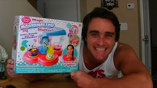 Sweet Stuff Magic Marshmallow Stuffer Unboxing! || Girls Toy Reviews || Konas2002