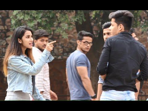 Xxx Mp4 GIRL SAYING App Muje Buri Nazar Sai Kyun Dekh Rahe Ho Pranks In India 3gp Sex