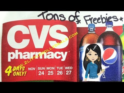 CVS Sales Circular Preview With FREE and CHEAP Coupon Match up 11/24/13 to 11/27