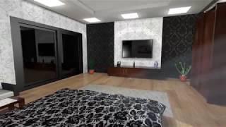 Interior Design- 3ds Max   Multimedia and Creative Technology,DIU   Kazi Jahid Hasan