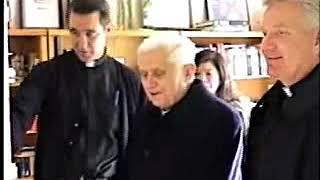 Cardinal Ratzinger visits Ignatius Press, 1999