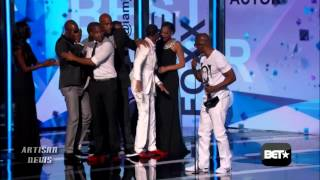2013 BET AWARDS WRAP: KENDRICK LAMAR, NICKI MINAJ, JAMIE FOXX PART OF BALANCED WINNER GROUP