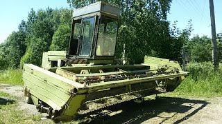 МТЗ-80+КСФ-2.1, Fortschritt Е-302. Кошение травы.