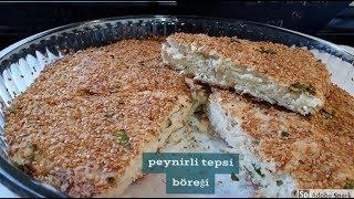 Simit Tadında Peynirli Tepsi Böreği Tarifi - Hülya Ketenci - Hamur İşleri