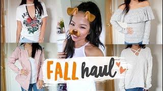 Fall Try On Haul 2017 | Charlotte Russe, Agaci, Nike