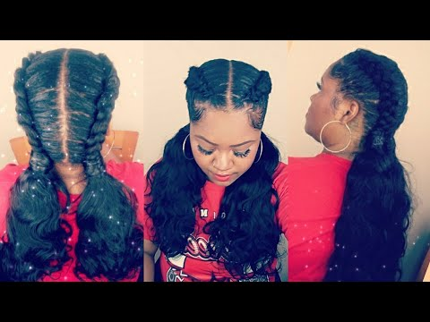Xxx Mp4 School Girl Braids And Ponytails Ft AliExpress Luvin Hair Brazilian Body Wave Hair Tutorial 3gp Sex
