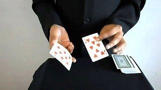 تعلم العاب الخفة # 192 ( حركة بثلاث اوراق لعب )  Card Trick REVEALED