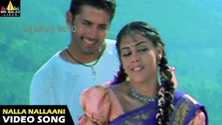 Sye Songs | Nalla Nallaani Kalla Video Song | Nithin, Genelia | Sri Balaji Video