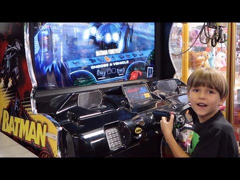 Batman Ride Family Arcade Fun