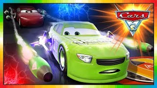 Cars 3 Driven to Win - gameplay - Brick Yardley Vs Natalie Certain