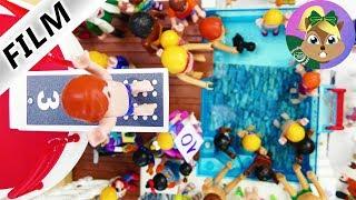 بلايموبيل فيلم|  بطولة القفز في فيلا عائلة الطيور الفاخرة !هل يمكن ان يقفز جوليان من ارتفاع 3 متر ؟