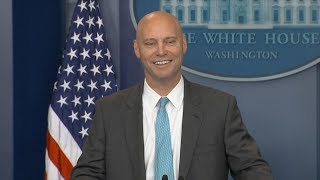 White House press briefing on potential government shutdown   ABC News