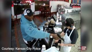 Jimmy John's employee unphased by armed robbery