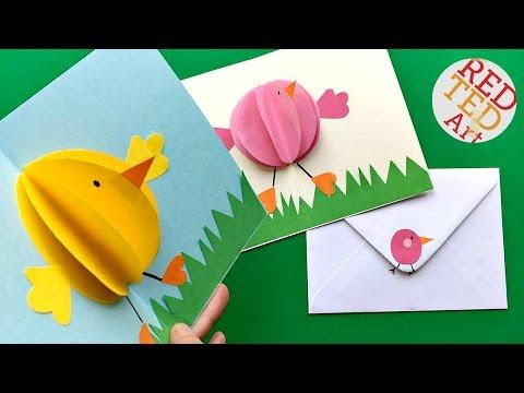 Xxx Mp4 Easy Pop Up Chick Card 3D Easter Card DIY Cute Easy 3gp Sex