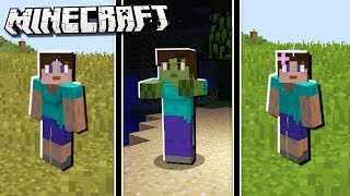 FEMALE GENDER MOD in Minecraft!