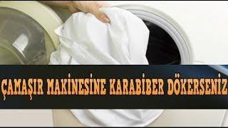 Çamaşır makinesinin içine karabiber atınca bakın ne oluyor?