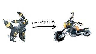 Umbreon - Pokemon Characters As Transformer.