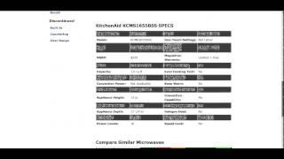 Kitchenaid Microwave Kcms1655bss Reviews Video Mp4 Flv Hd
