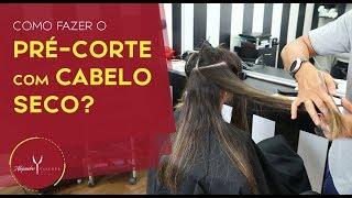💇✂Como fazer pré-corte com cabelo seco?✂✂