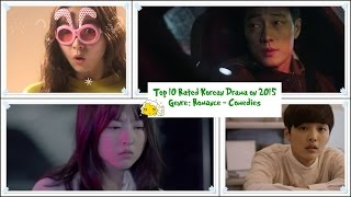 Top 10 Rated Korean Comedy - Romance Drama on 2015