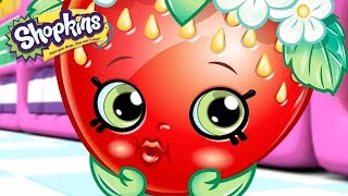SHOPKINS - STRAWBERRY BIRTHDAY | Cartoons For Kids | Toys For Kids | Shopkins Cartoon