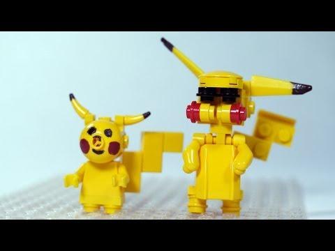How To Build LEGO Pikachu LEGO Pokemon