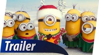 MINIONS 3D Christmas Weihnachten Teaser Trailer Deutsch German (HD)