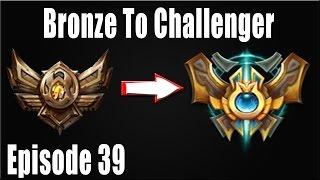 LOL: Bronze To Challenger Episode 39 - Galio Mid