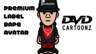 Premium Label Bape Character