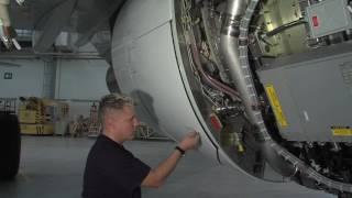CFM56 Manual Stowing Blocker Door