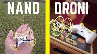 MINI DRONE X6.0 NANO + X6.0 BALL: si vola DENTRO e FUORI CASA!