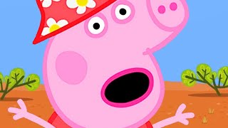 Peppa Pig English Episodes 🇦🇺Earth Day- Peppa Pig's Visit in the Outback | Peppa Pig Official | 4K