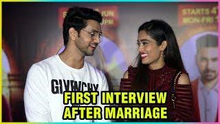Shakti Arora And Neha Saxena's FIRST INTERVIEW After Marriage | Silsila Badalte Rishton Ka