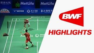 Thaihot China Open 2016 | Badminton SF – Highlights