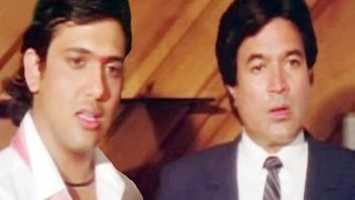 Govinda and Rajesh Khanna get emotional - Swarg, Scene 2/14