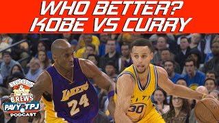 Is Steph Curry Better Than Kobe Bryant Already ?   Hoops N Brews