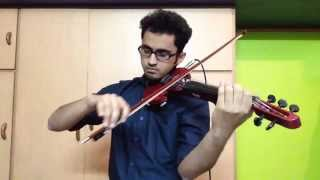 Sleepwalk by Santo and Johnny ||  Violin Cover by Rohan Roy