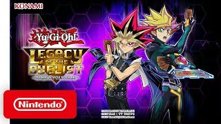 Yu-Gi-Oh! Legacy of the Duelist Link Evolution - Launch Trailer - Nintendo Switch